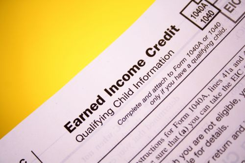 Earned income tax credit form